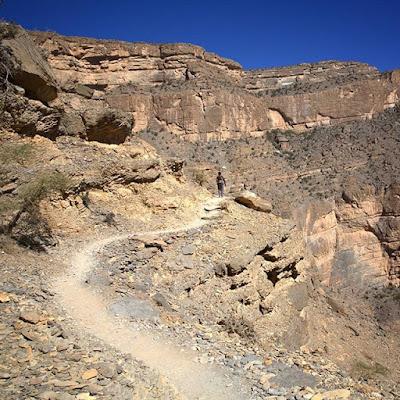 Cañón de Arabia en Jebel Shams
