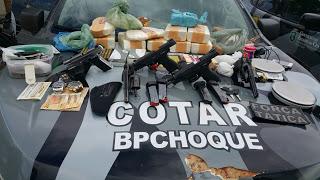 BPChoque desarticula quadrilha do PCC que trazia drogas e armas de São Paulo para o Ceará