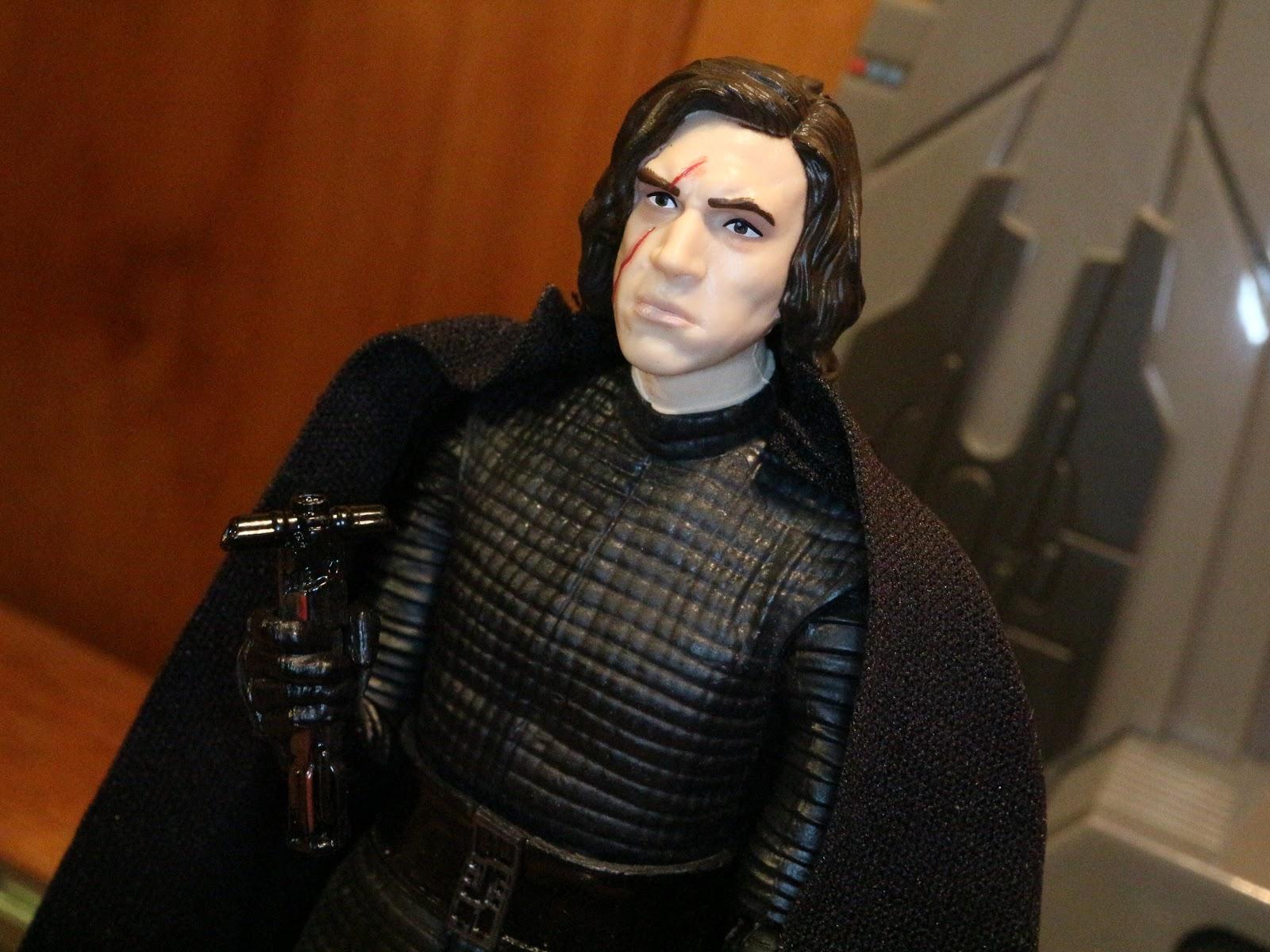 Star Wars SET OF 3 KMART EXCLUSIVE Rey Kylo Ren Jyn Erso Black Series Figures