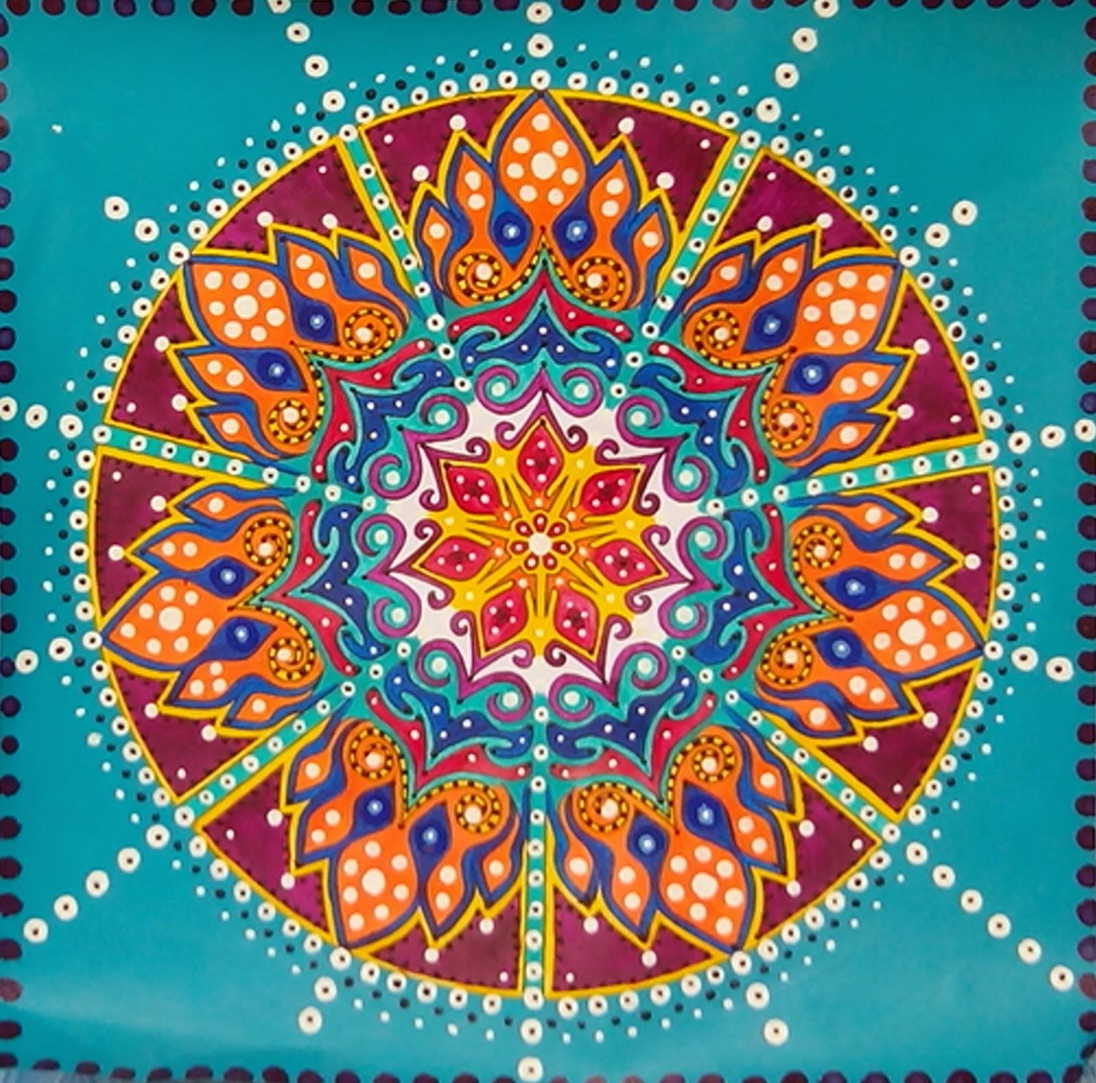 mandala couleurs méditation instant précieux Anne Jacquemin Uzes exposition art in uzes actualités