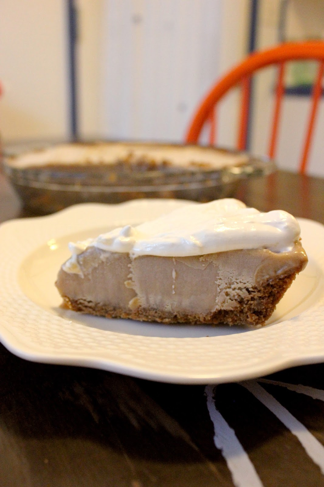 Recipe for Peanut Butter Ice Cream Pie by freshfromthe.com