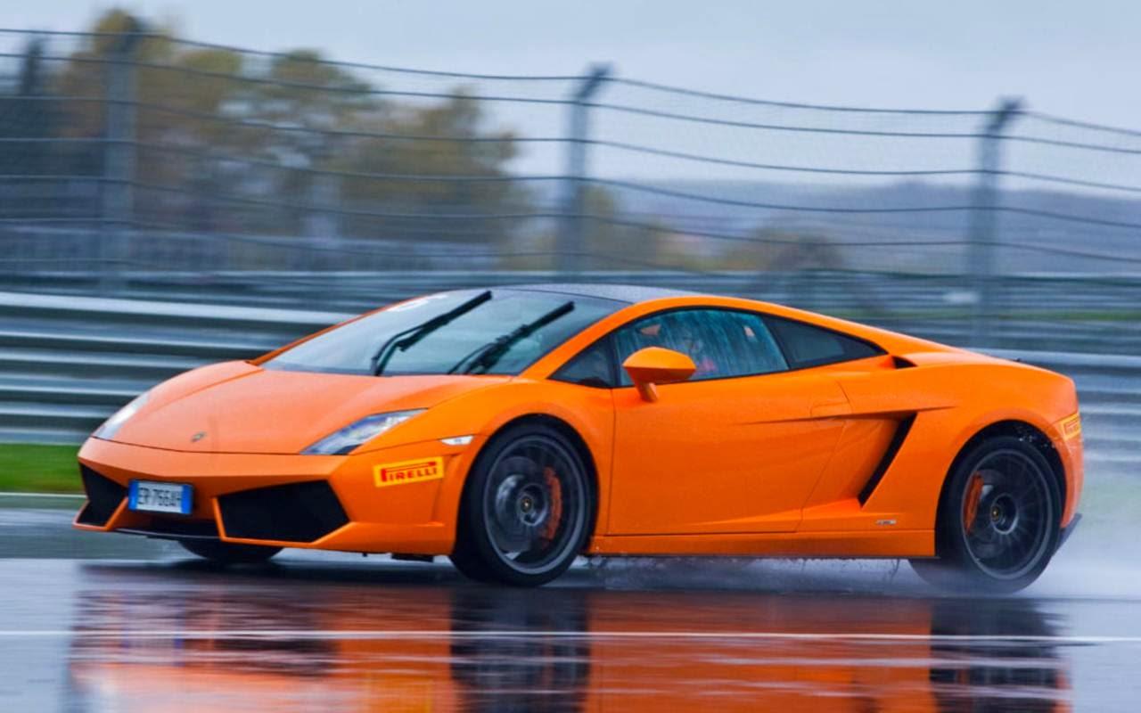 V 237 Deo Lamborghini Gallardo Fazendo Drift Na Chuva Car