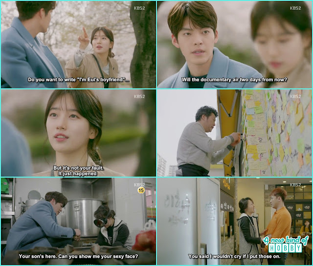no eul told joon young its not his fault  - Uncontrollably Fond - Episode 19 Review