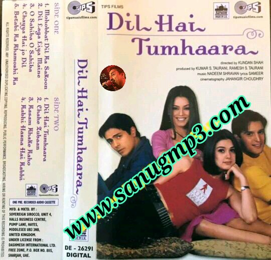 Dil hai tumhara movie mp4 video song free download gopspain.