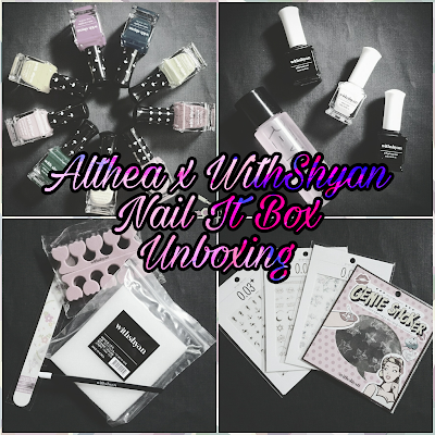 Unboxing plus Nail Art featuring Althea x WithShyan Nail It Box