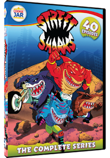 DVD Review - Street Sharks: The Complete Series