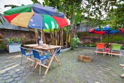 Omah Sabah B&B halaman pekarangan murah