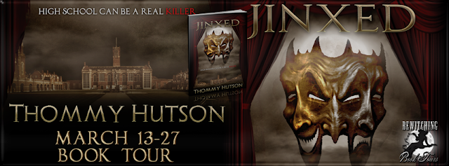Interview with Thommy Hutson, author of Jinxed