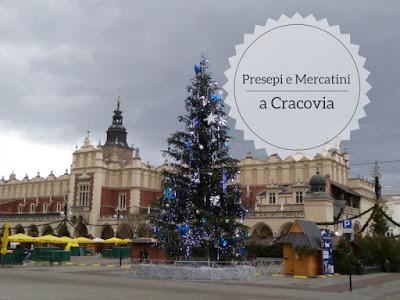 Presepi e mercatini di Natale a Cracovia: la piazza centrale