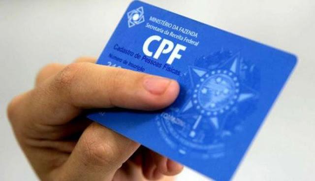 Contribuinte com CPF pendente não terá mais conta bancária