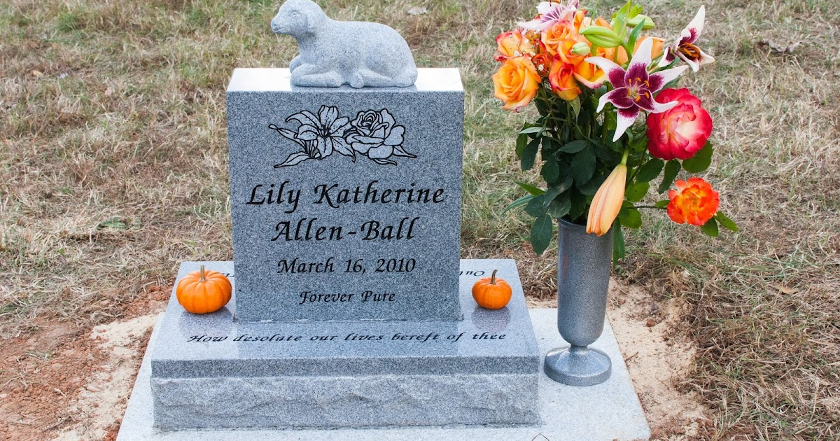 Rose And Her Lily Designing Your Baby S Headstone Some