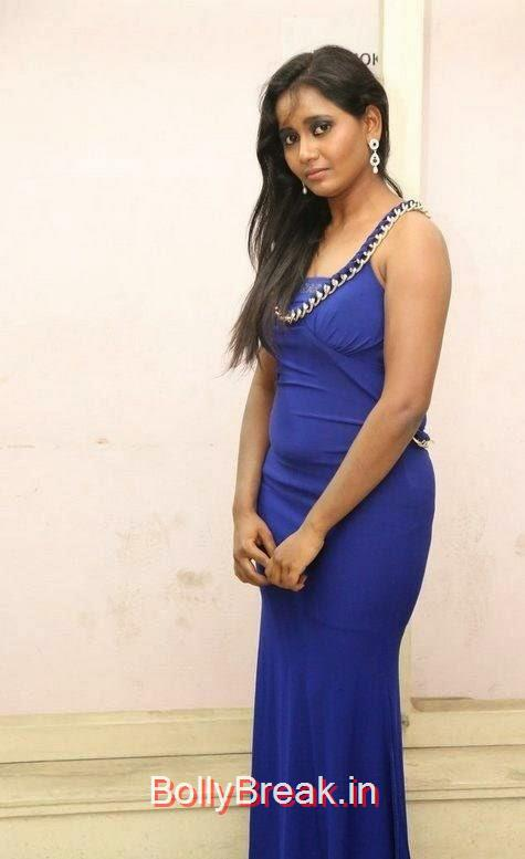 Anusha-Photo-Stills-54, Anusha Hot HD Images  in Blue Dress