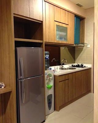 Membuat Kitchen Set Sederhana Diruang Dapur Yang Sempit