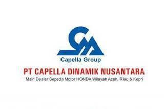 Lowongan Kerja Pekanbaru PT. Capella Dinamik Nusantara Agustus 2018