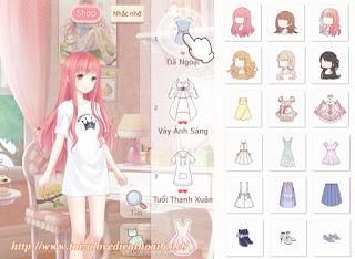 Game ngôi sao thời trang