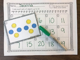 https://www.teacherspayteachers.com/Product/Numbers-to-20-Math-Center-Task-Cards-SCOOT-2615629