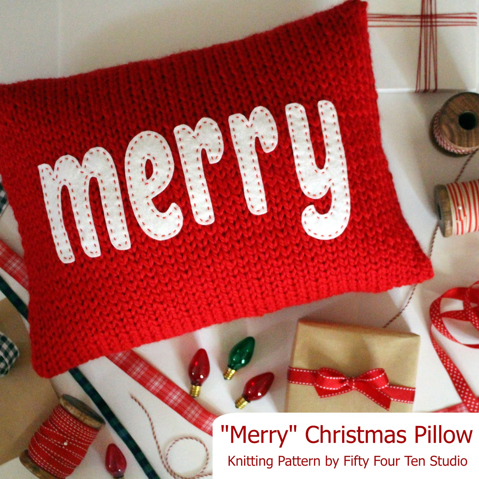 Merry & Cheers Pillows