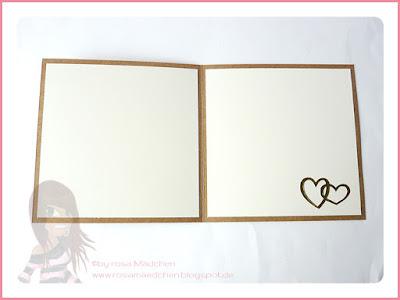 Stampin' Up! rosa Mädchen Kulmbach: Hochzeitskarte mit besonderem Designerpapier Meisterwerke, Herzen und Umhängeband