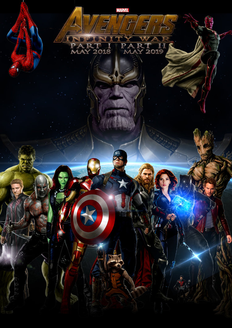 The Avengers Infinity War 2