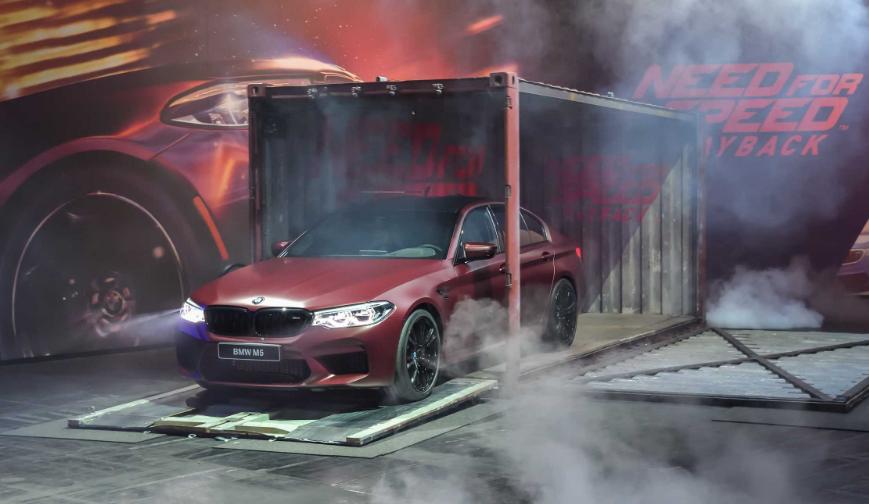 Ντεμπούτο της νέας BMW M5 στο Need for Speed Payback