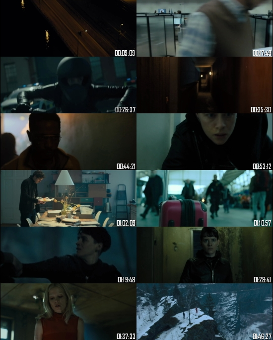 The Girl In The Spiders Web 2018 BRRip 720p 480p Dual Audio Hindi English Full Movie Download