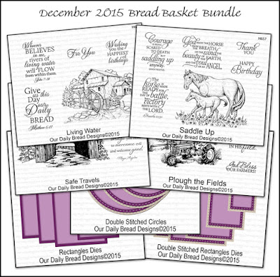 Our Daily Bread Designs December 2015 Bread Basket Bundle