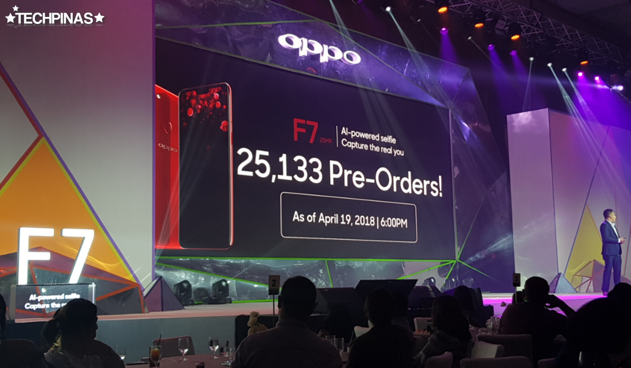 OPPO F7 Pre Orders Philippines