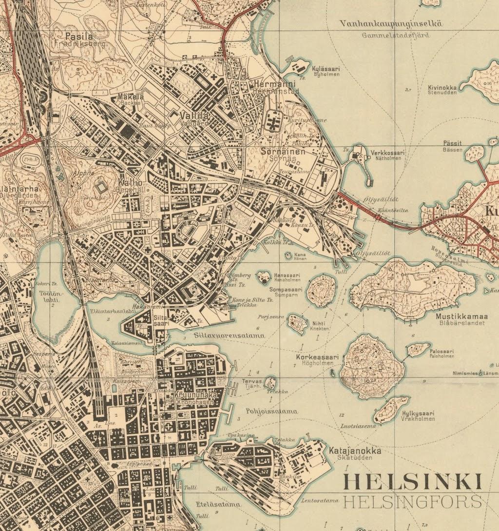 Kuvauspaiva Vanhat Painetut Kartat Kartta Aineistoa