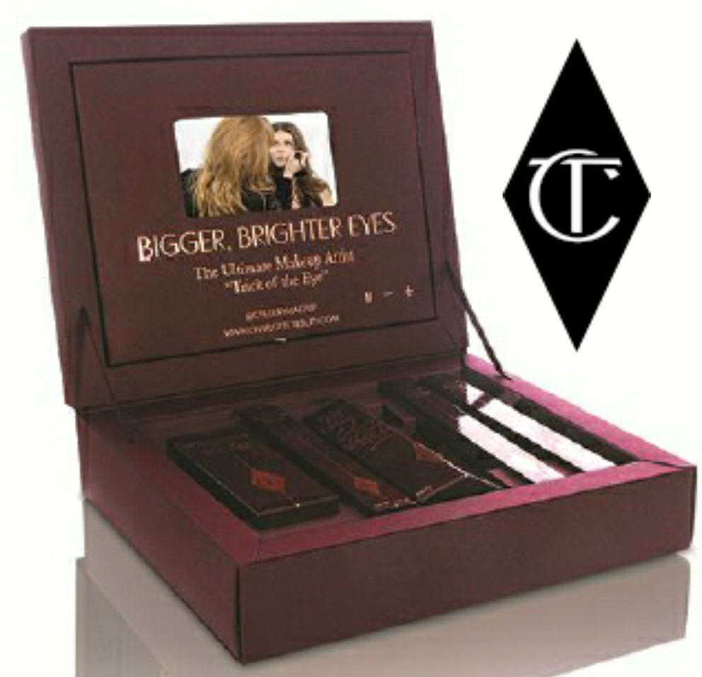 Charlotte Tilbury has launches Bigger, Brighter Eyes Collection
