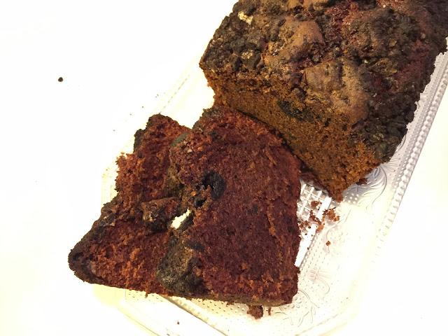 Cake au chocolat et Oreos cookies