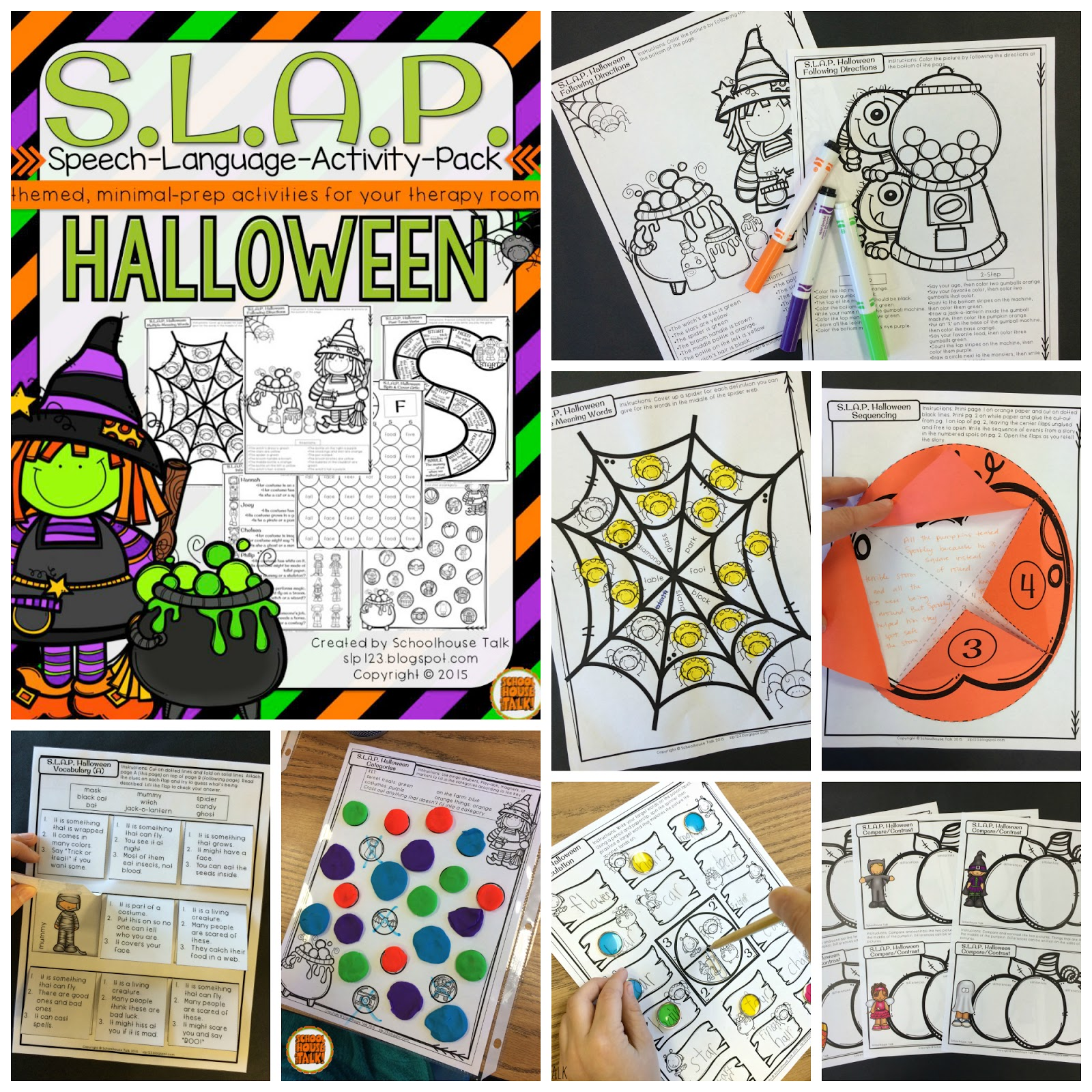 Schoolhouse Talk Halloween Language Tricks And Treats