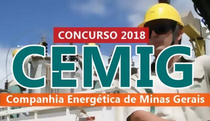 Concurso CEMIG MG 2018