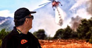 Ήρωας εθελοντής: Κάηκε το σπίτι μου, δεν μας έφεραν ούτε φαγητό!