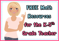 Free Math Resources from Teacher's Take Out