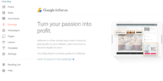 place ads on your blog and earn money online