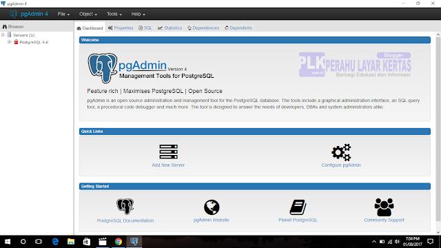 Cara Backup dan Restore Database di PgAdmin 4