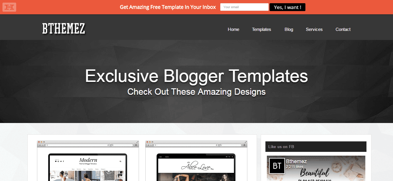 Top 10 Best Blogger Template Designer Sites in 2017 - Sora Blogging Tips