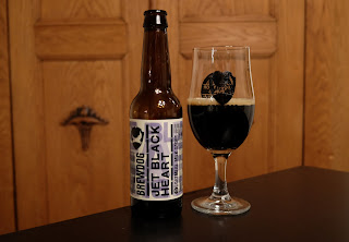 Jet Black Heart Oatmeal Milk Stout fra Brewdog