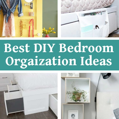 DIY Home Sweet Home: Best DIY Bedroom Organization Ideas