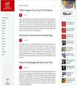 Giới thiệu mẫu blogspot cá nhân đẹp đơn giản