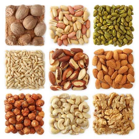 Các loại hạt vỏ cứng không những giúp tăng cholesterol tốt và giảm mỡ máu mà còn là món ăn phòng tránh bệnh tim mạch.