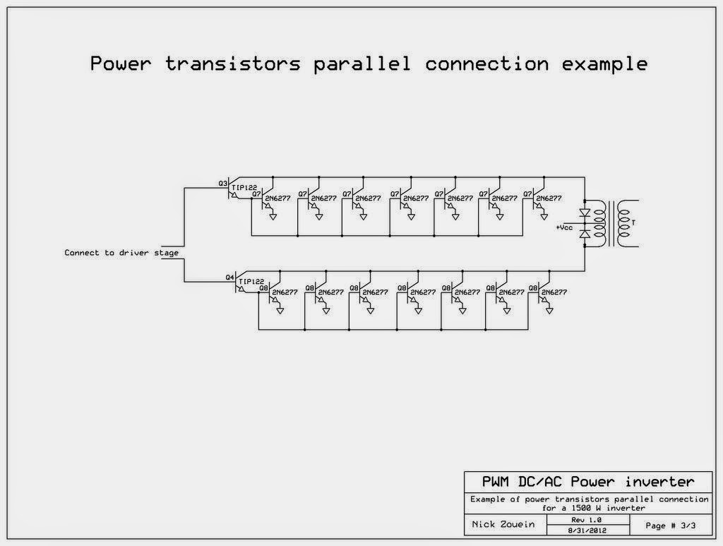 Dc To Ac Inverter Schematic Diagram Yamaha Gas Powered Golf Cart Wiring 250 5000 Watts Pwm 220v Power Gallery
