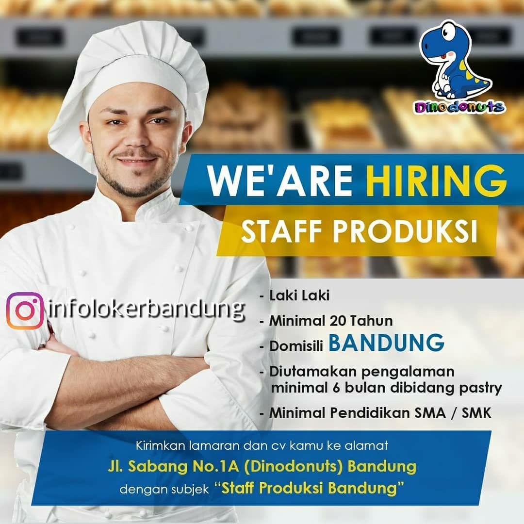 Lowongan Kerja Dino Donuts Bandung April 2018