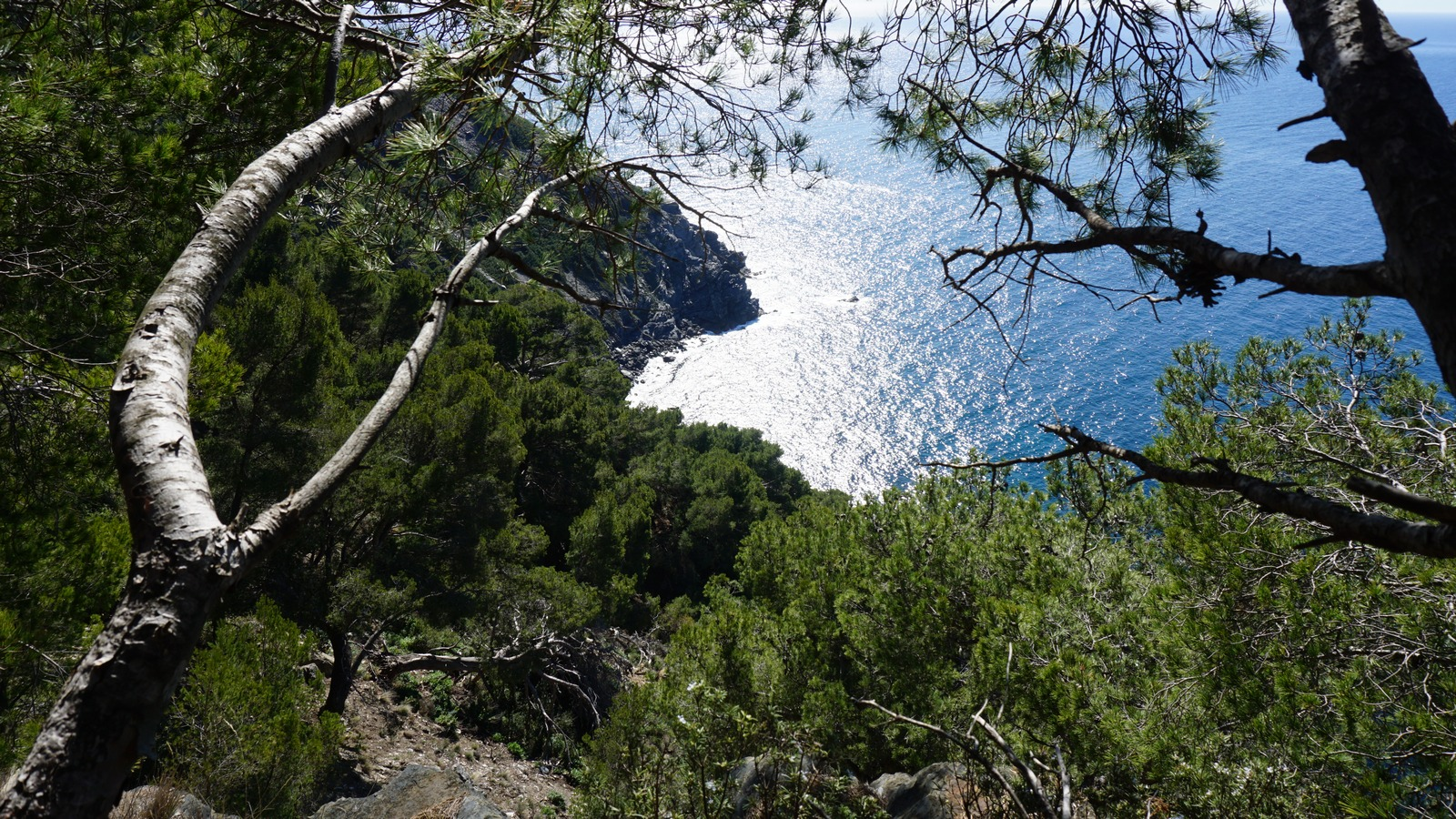 View from trail near Cap Sicié