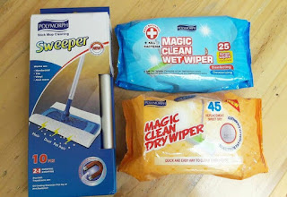 Alat Pel Lantai Ajaib Magic Clean Wiper Paket Lengkap