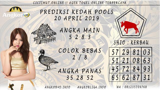 Prediksi Angka Jitu KEDAH POOLS 20 APRIL 2019