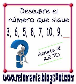 Retos matemáticos, Desafíos matemáticos, Retos para pensar, Problemas matemáticos, El número que falta, Cuadrados mágicos