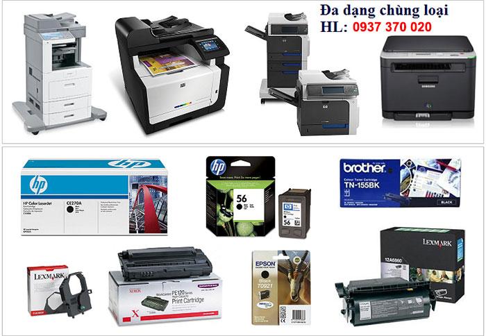 Dịch vụ nạp mực in Biên Hòa