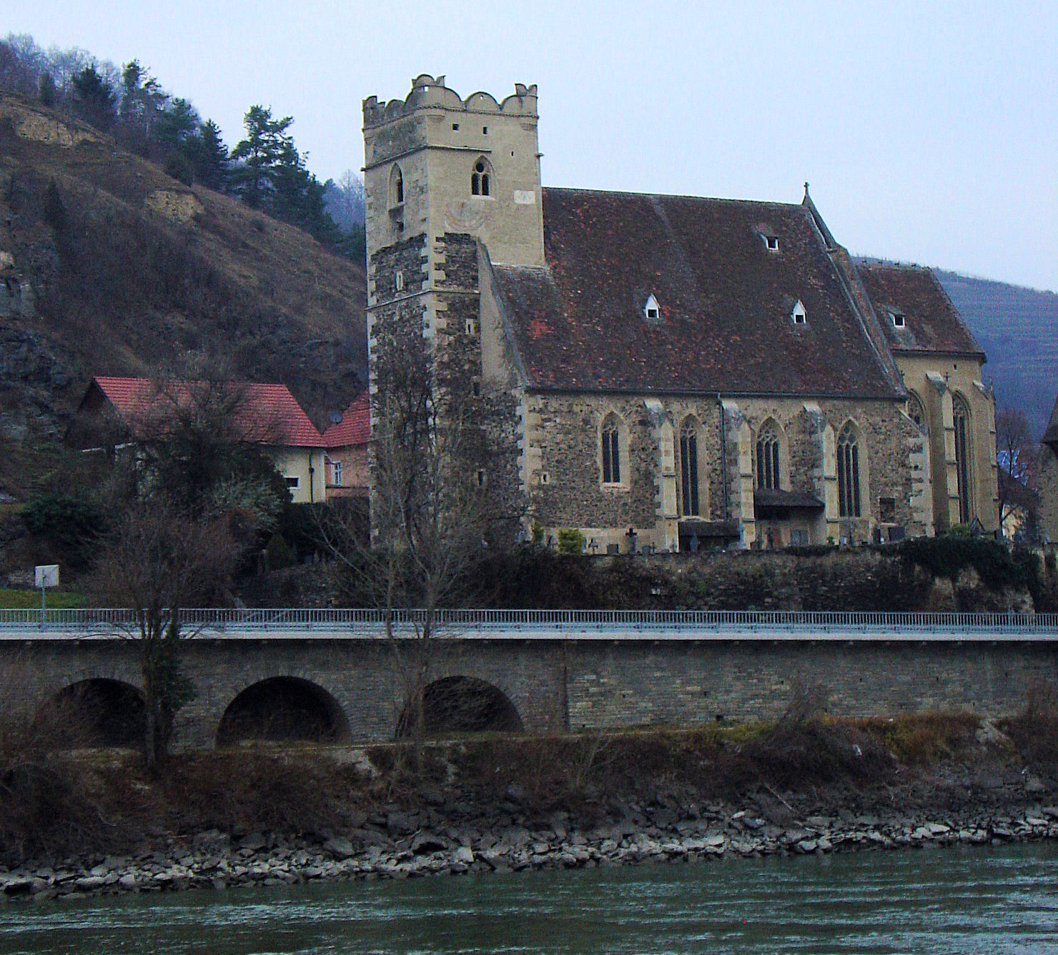 Saint Michael's is the oldest of all of the churches in Austria's Wachau Valley.