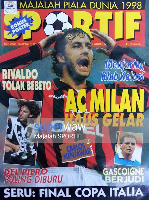 Majalah SPORTIF AC Milan Haus Gelar